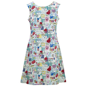 Nifty Shifty Dress - Vintage Sewing Sketch