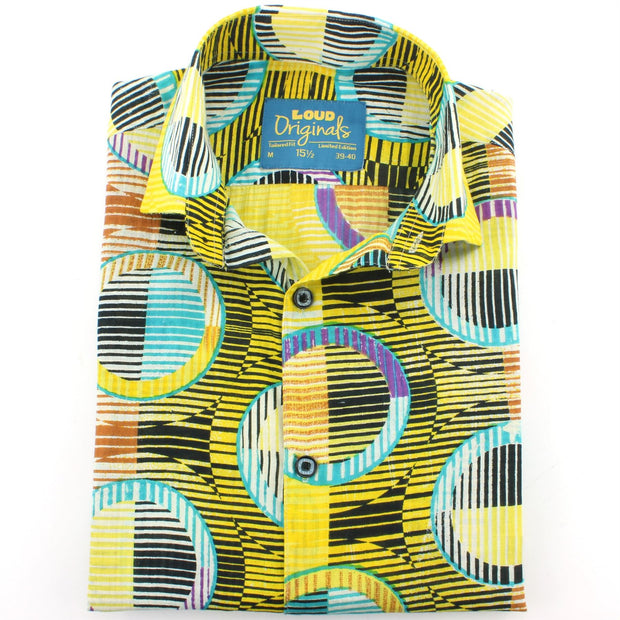 Tailored Fit Short Sleeve Shirt - Porthole Blinds