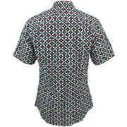Slim Fit Short Sleeve Shirt - Bowling Pins