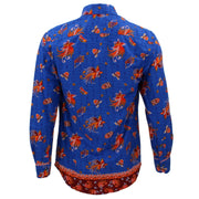 Tailored Fit Long Sleeve Shirt - Abstract Phoenix