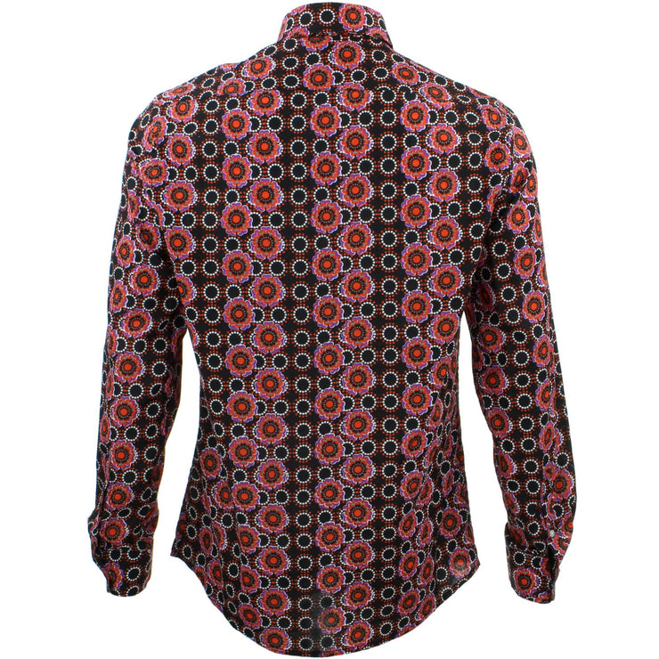 Slim Fit Long Sleeve Shirt - Poppy Dots