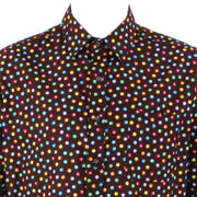 Regular Fit Short Sleeve Shirt - Multicoloured spots