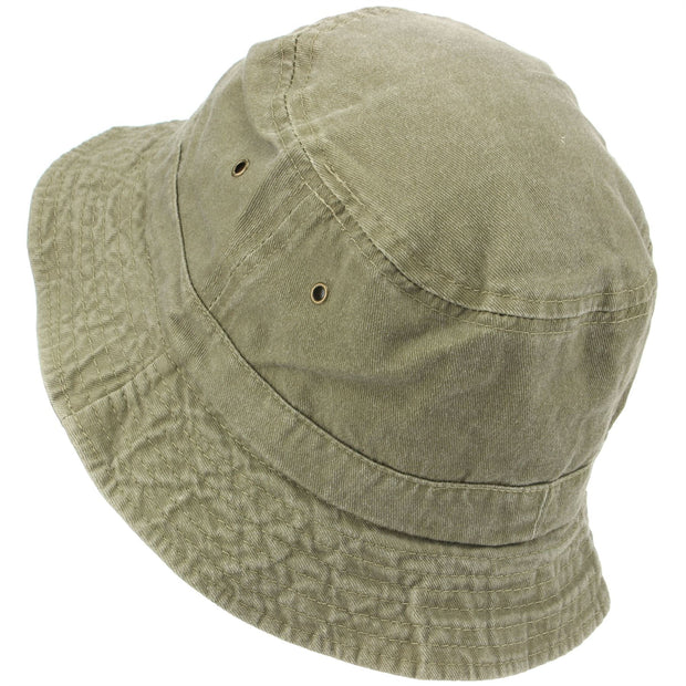 Pre-washed Bucket Hat - Stone