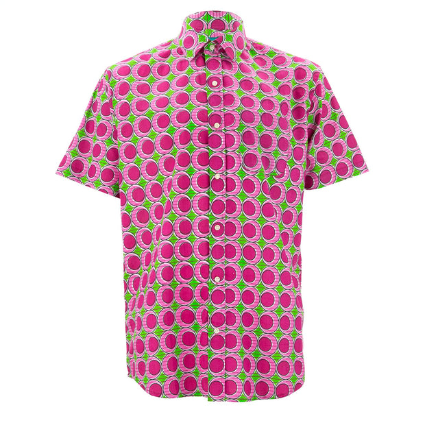 Regular Fit Short Sleeve Shirt - Pink Eggs