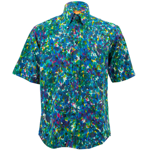 Regular Fit Short Sleeve Shirt - The Painter