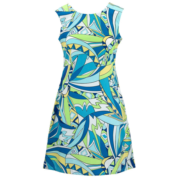 Nifty Shifty Dress - Sixties Dilemma Blue