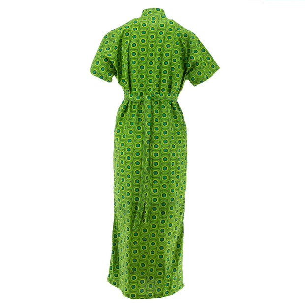Mandarin Maxi Dress - Citrus Kiwi