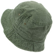Pre-washed Bucket Hat - Green