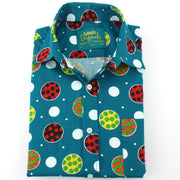 Slim Fit Long Sleeve Shirt - Polka Balls