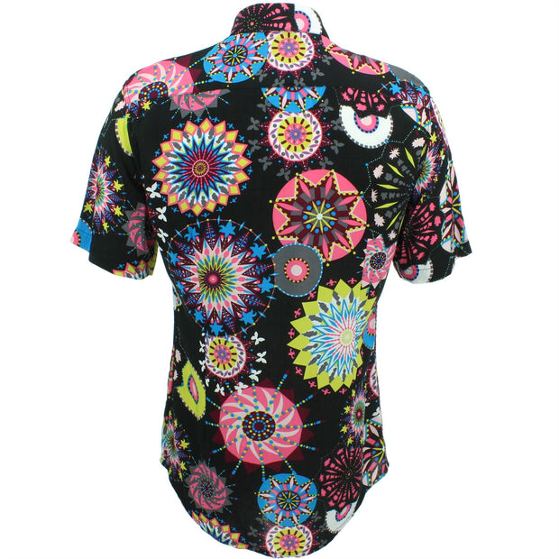Slim Fit Short Sleeve Shirt - Carnival Suzani