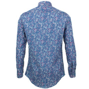 Slim Fit Long Sleeve Shirt - Fish Tail Paisley