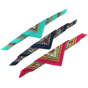 Bandana Face Cover Mask - Set of 6 - Paisley