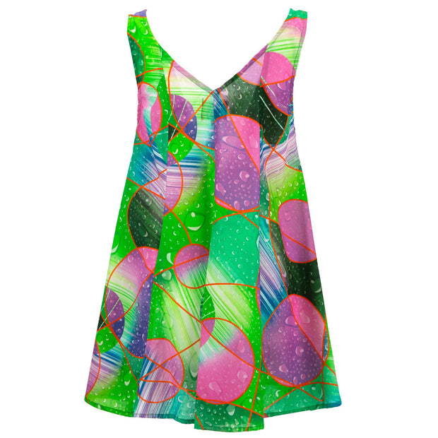 Floaty Dolly Dress - Rain Shower