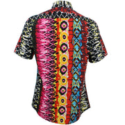 Tailored Fit Short Sleeve Shirt - Psychedelic Snakeskin
