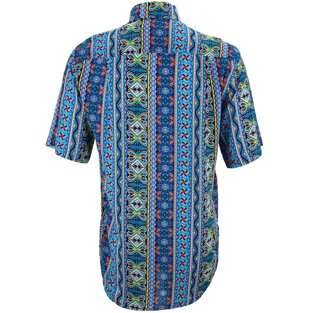 Regular Fit Short Sleeve Shirt - Geomaztec