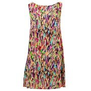 Shift Shaper Dress - Rainbow Brush Stroke