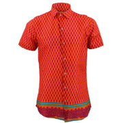 Tailored Fit Short Sleeve Shirt - Carrots