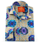 Slim Fit Long Sleeve Shirt - The Eye of the Kaleidoscope