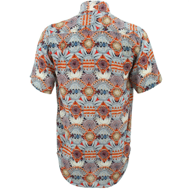 Regular Fit Short Sleeve Shirt - Bohemian
