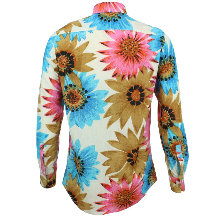 Tailored Fit Long Sleeve Shirt - Big Summer Floral