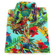 Regular Fit Short Sleeve Shirt - Tropical Lily