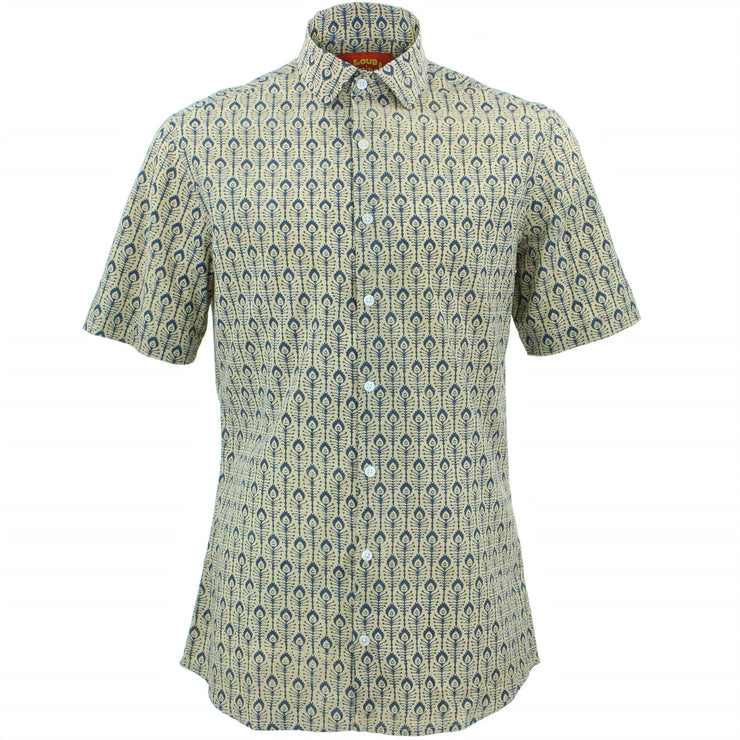 Tailored Fit Short Sleeve Shirt - In Bloom