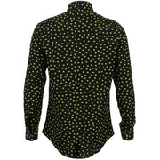 Tailored Fit Long Sleeve Shirt - Ditzy Yellow Stars
