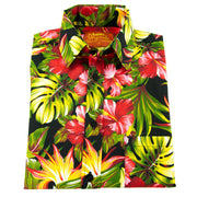 Regular Fit Short Sleeve Shirt - Tropical Jungle