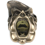 Wall Mounted Character Bottle Opener - The Donald Trump (Bronze)