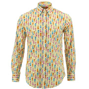 Regular Fit Long Sleeve Shirt - Violins