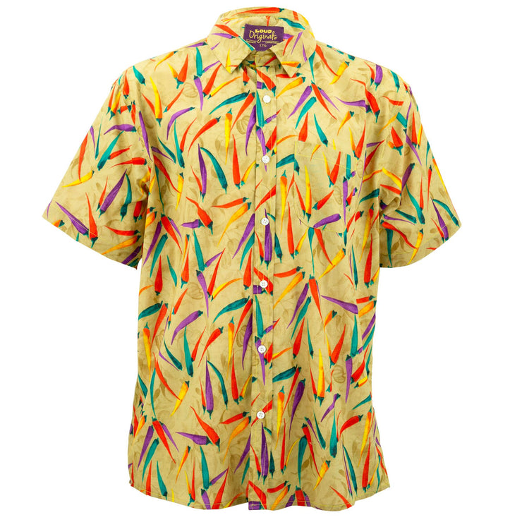 Regular Fit Short Sleeve Shirt - Chillies