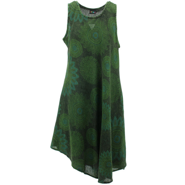 Summer Umbrella Dress - Green