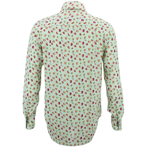 Regular Fit Long Sleeve Shirt - Afternoon Tea