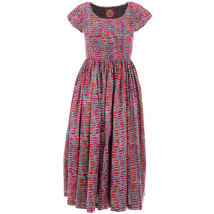 Tea Dress - Colour Burst