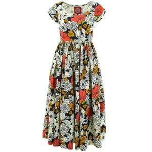 Tea Dress - Super Floral