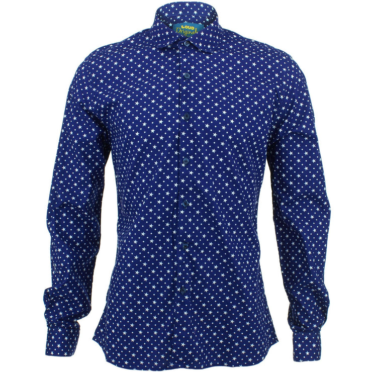 Slim Fit Long Sleeve Shirt - Polka Stars