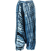 Garis Ali Baba Trousers - Blue
