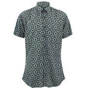 Slim Fit Short Sleeve Shirt - Gothic Tiles