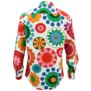 Regular Fit Long Sleeve Shirt - Bold Suzani