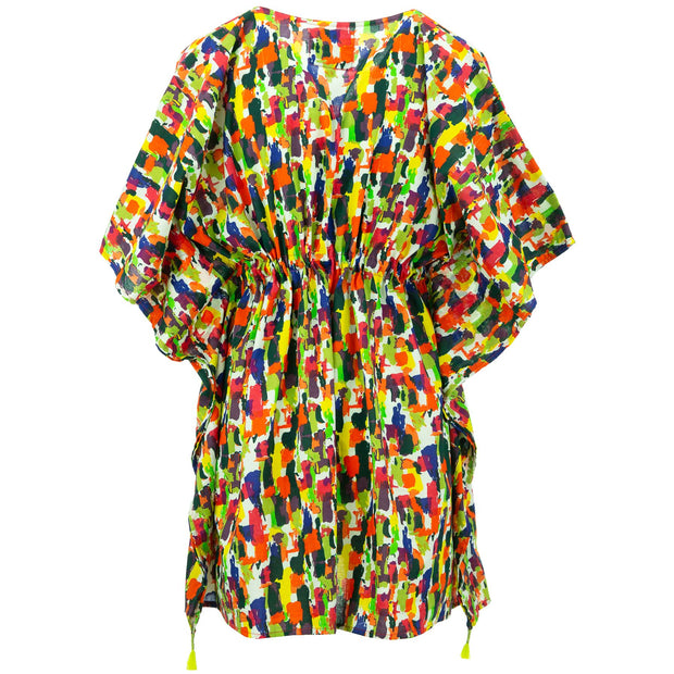 Beach Kaftan Cover-Up - Painted