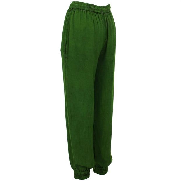 Harem Trousers - Green