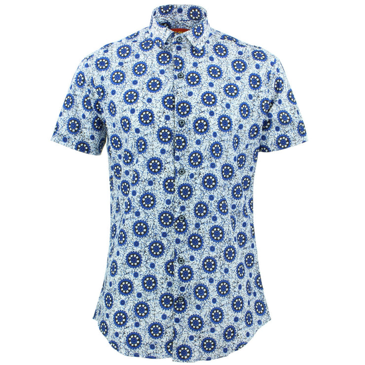 Tailored Fit Short Sleeve Shirt - Gear Cogs