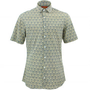 Slim Fit Short Sleeve Shirt - In Bloom