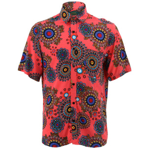 Regular Fit Short Sleeve Shirt - Fractal Suzani
