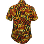 Slim Fit Short Sleeve Shirt - Tiger