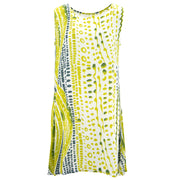 The Swirl Shift Dress - Lime Drops