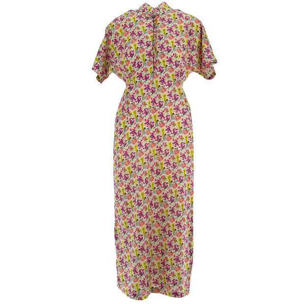 Mandarin Maxi Dress - Summer Meadow