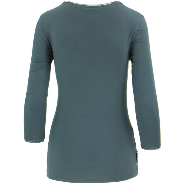 3/4 Sleeve Top - Blue