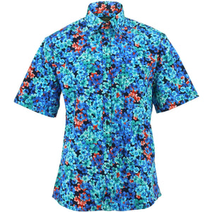 Regular Fit Short Sleeve Shirt - Floral