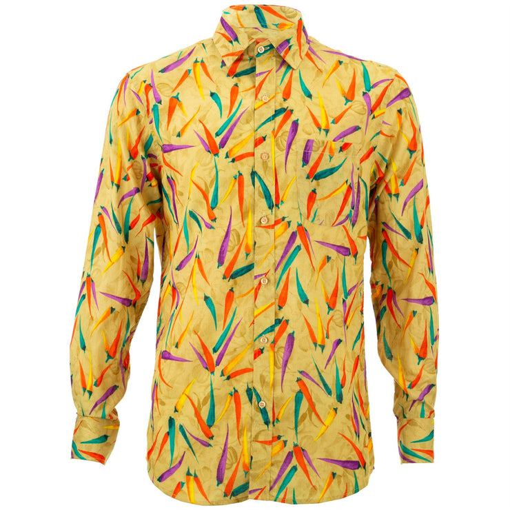 Regular Fit Long Sleeve Shirt - Chillies